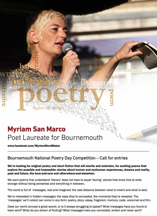 Miriam San Marco Poetry Poster copy